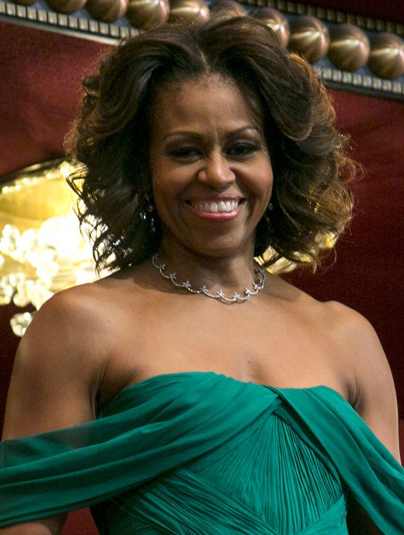 Michelle Obama Haircut Short Curly Hairstyle For Black