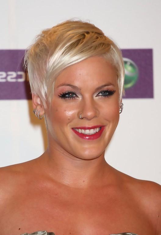 Pinks Short Blonde Pixie Cut Styles Weekly