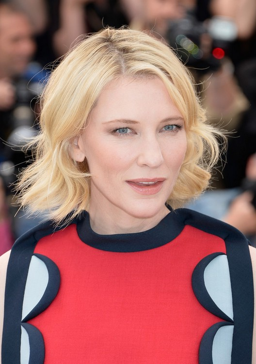 Cate Blanchett Short Blonde Wavy Hairstyle Styles Weekly
