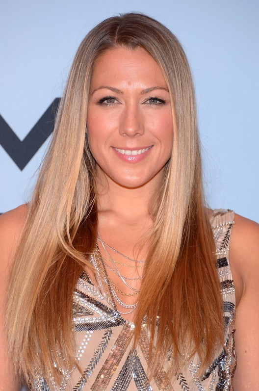 Colbie Caillat Latest Long Sleek Ombre Hair For Fall