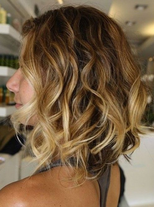 pretty short ombre hair
