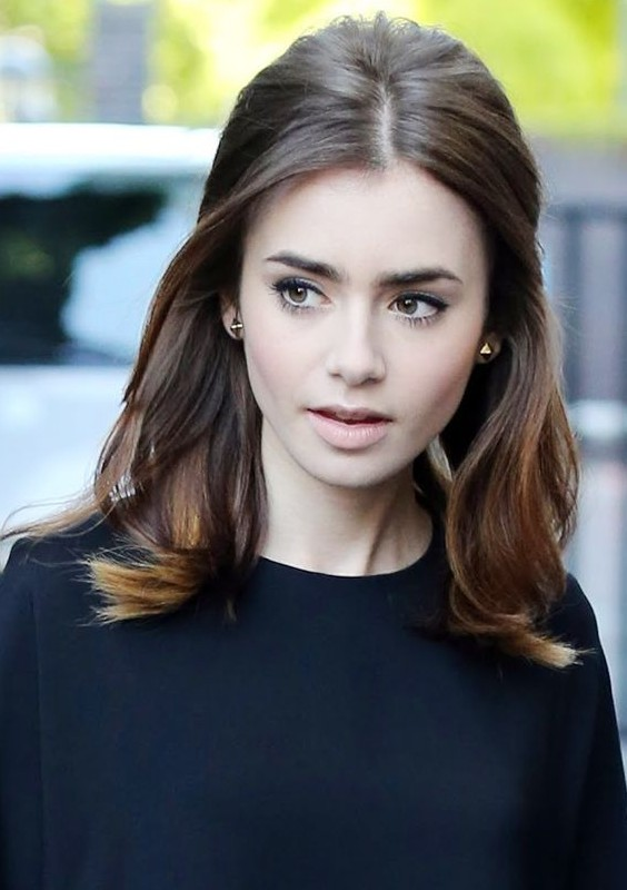 Lily S Half Up Half Down Subtle Bouffant Hairstyle For