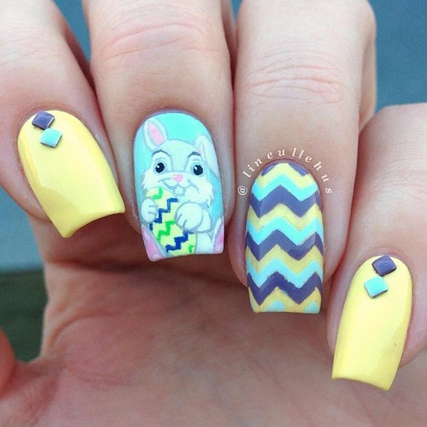 Cute Nail Design For Spring And Summer