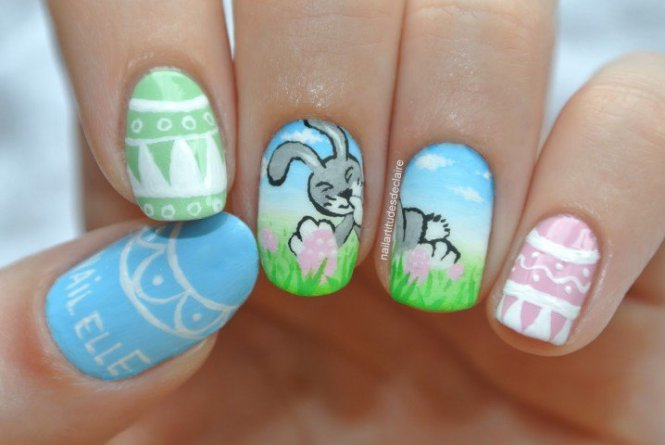 Designs Cute Nails For Spring Break Pictures