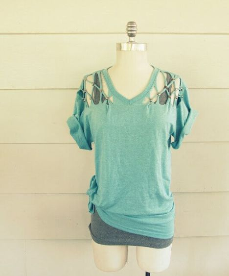 40 Simple No Sew DIY Clothing Hacks, Designs And Ideas ...