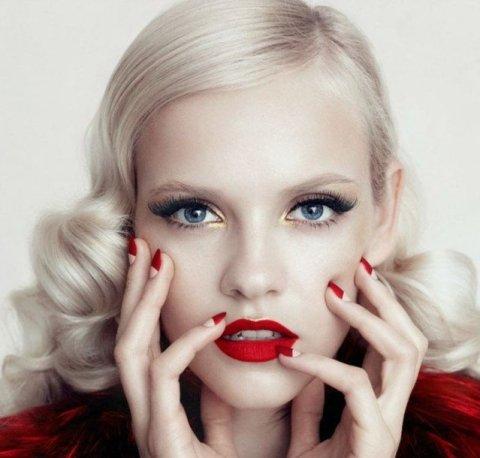 Chic Bridal Makeup Idea