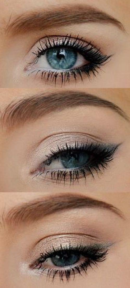 Everyday Eye Makeup On Pinterest: 26 Easy Makeup Tutorials For Blue Eyes