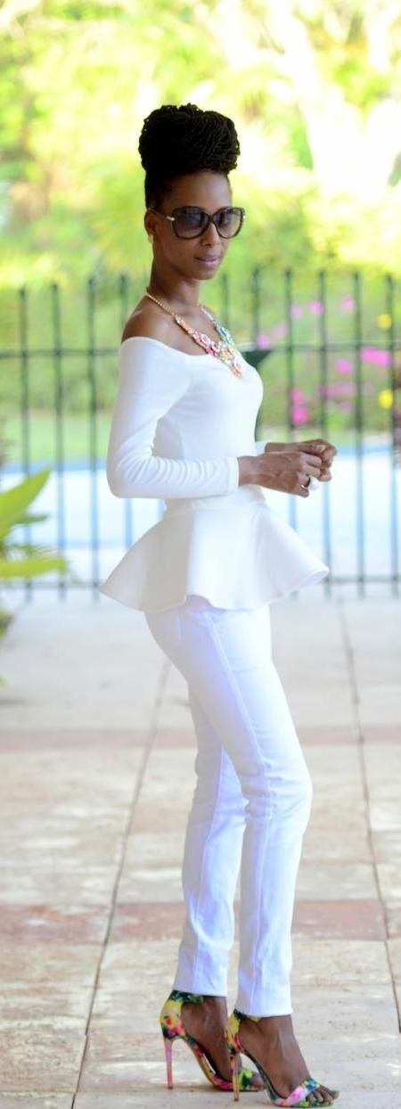 25 Wonderful Ways to Wear (All) White | Styles Weekly
