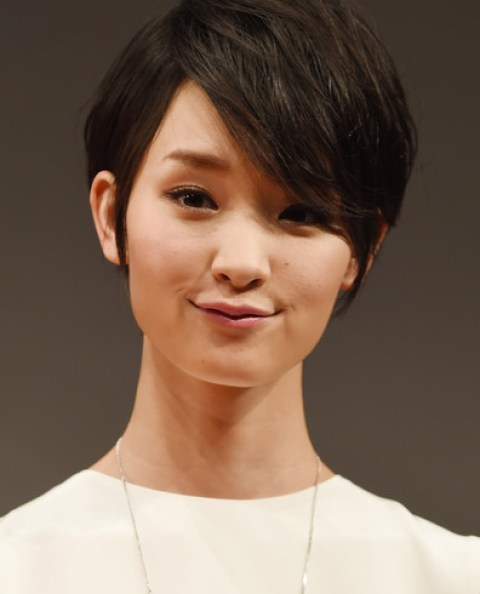 Ayame Goriki Lovely Short Hair with Emo Bangs
