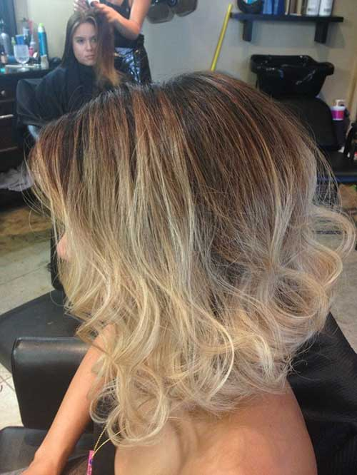 Ombre Look Braun
