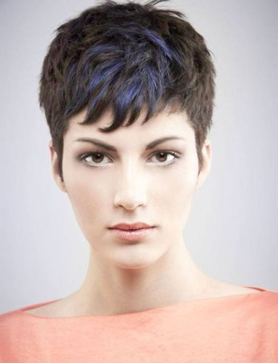 Gorgeous Super Short Hairstyle