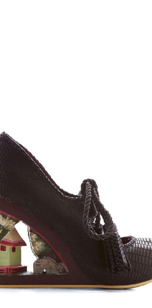 sculptured heels