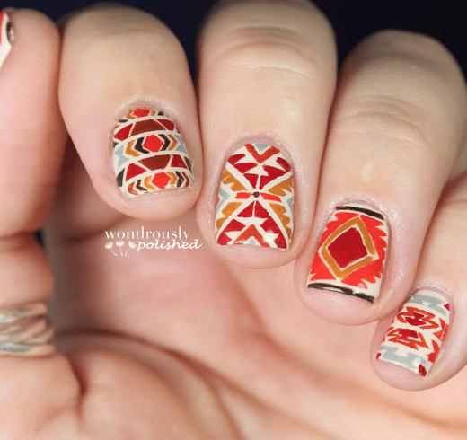 Fantastic Nail Design for Thanksgiving