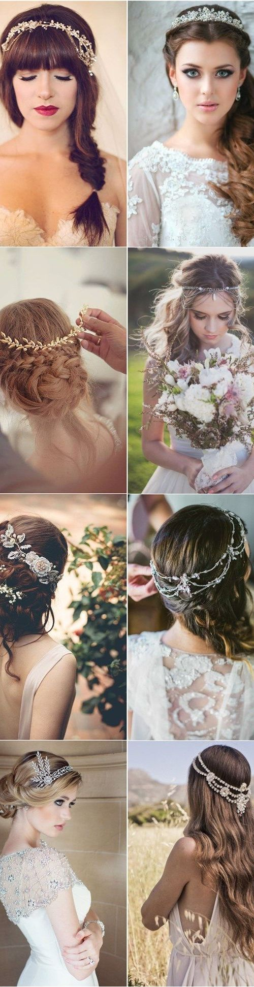 Eight Romantic Bridal Hairstyles