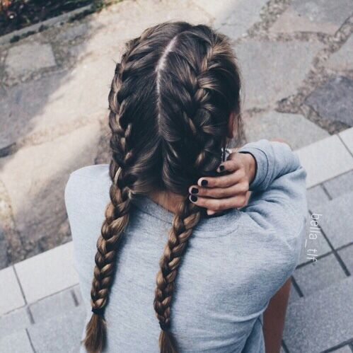 17 Chic Double Braided Hairstyles Crazyforus