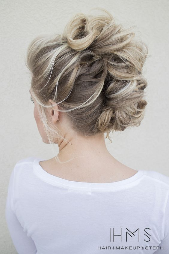 16 Fashionable French Twist Updo Hairstyles Styles Weekly