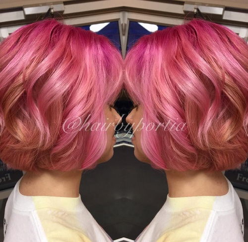 20 Hottest PinkRed Ombre Hairstyles Ombre Hair Color