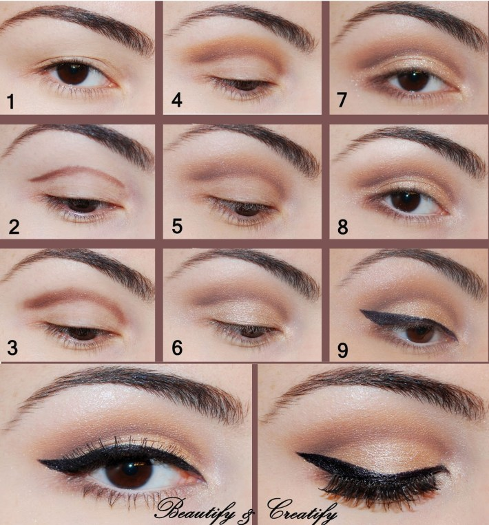 16 easy step-by-step eyeshadow tutorials for beginners - crazyforus