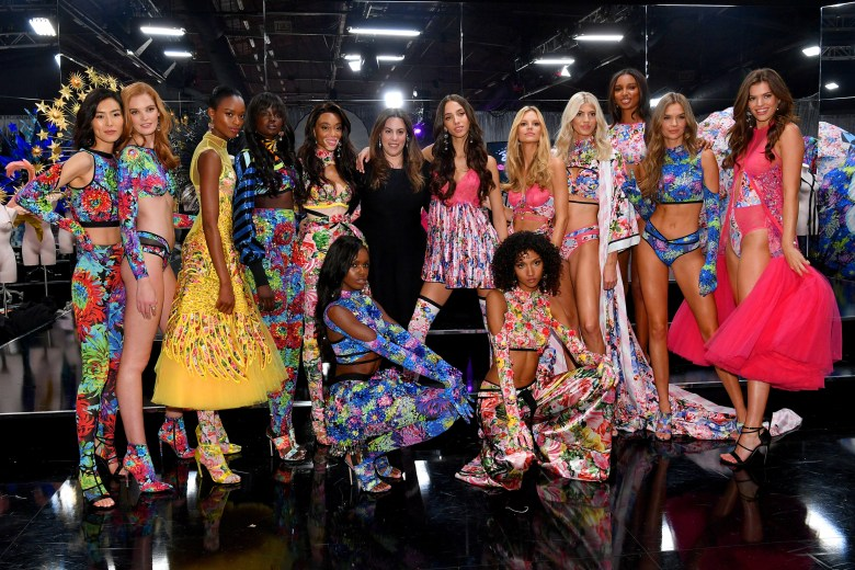2018 Victoria's Secret Fashion Show in New York - Backstage