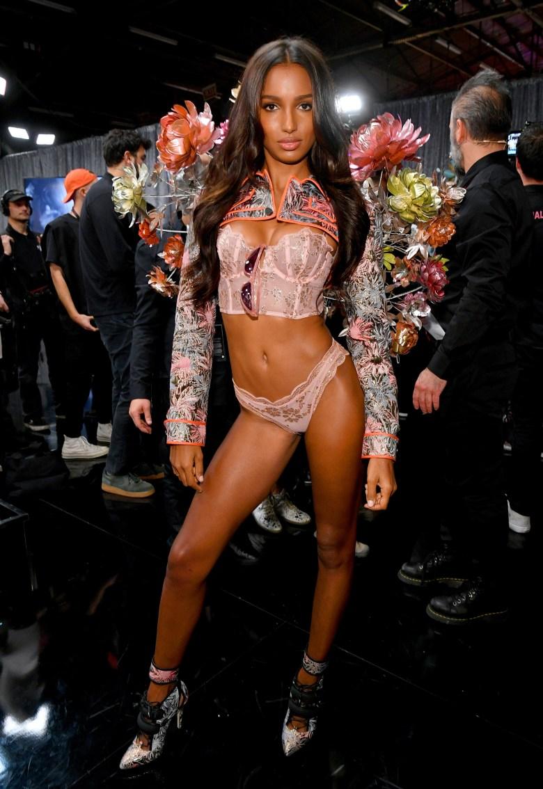 2018 Victoria's Secret Fashion Show in New York - Backstage
