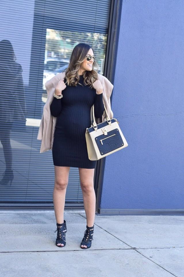 style the girl black bodycon