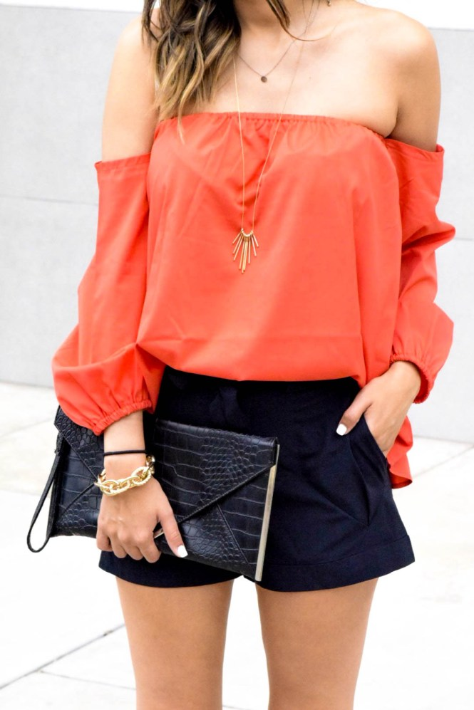 style the girl red top5