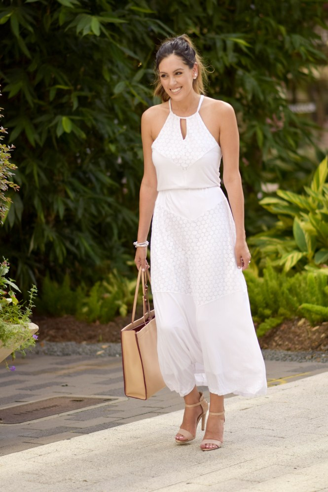Style The Girl White Maxi Dress 24