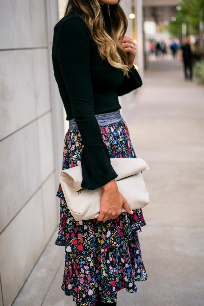 style the girl, maxi skirt worn two ways