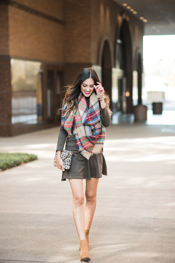 style the girl dropped waist dress