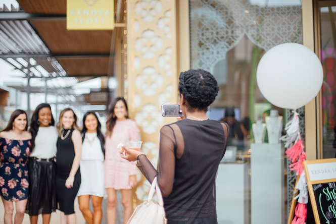 style the girl kendra scott event