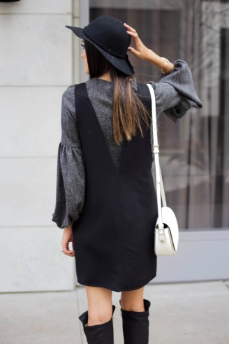 Style The Girl Billow Sleeve Dress 16