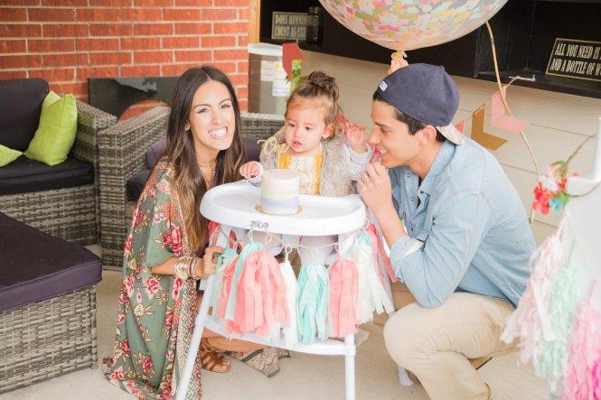 Sofichella- Coachella Themed First Birthday Party