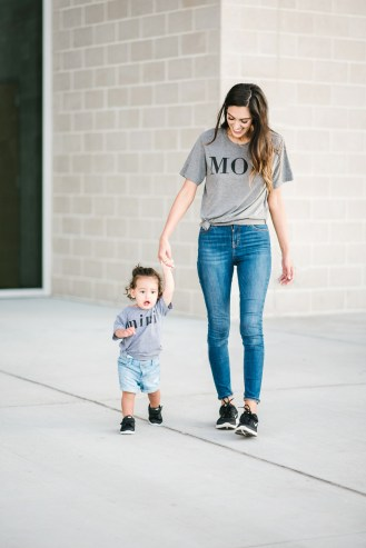 Style The Girl Mom, Dad and Mini Tees