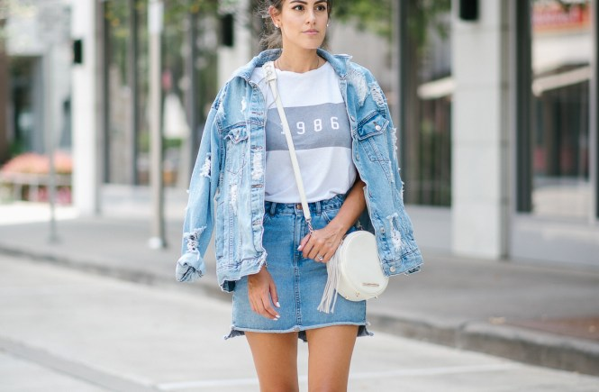 Style The Girl Denim On Denim Look