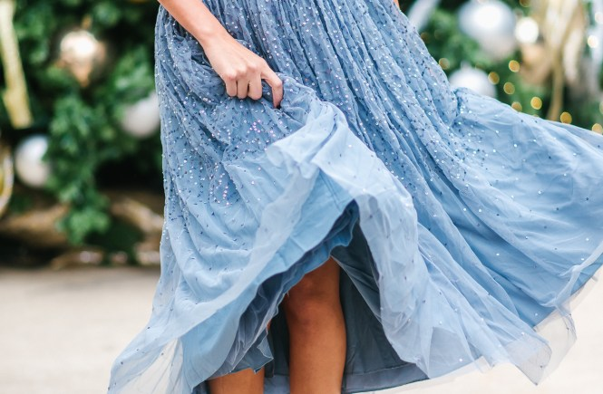 Style The Girl Tulle Skirt For The Holidays With Asos