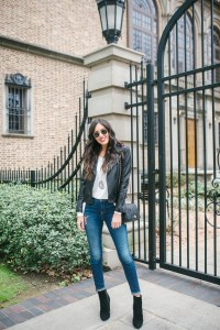 Style The Girl How To Wear Patched Denim