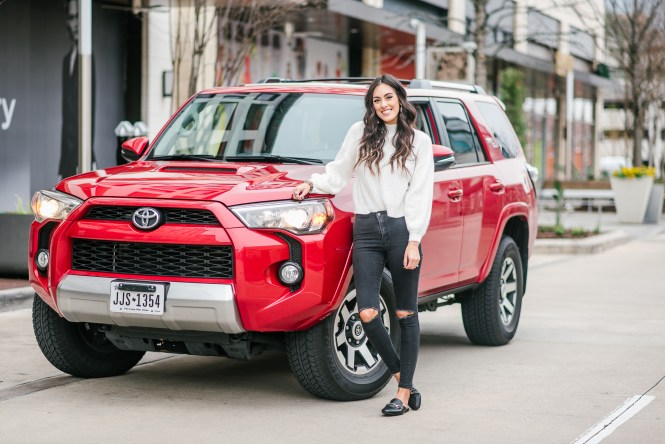 Style The Girl Toyota Valentine's Day Partnership