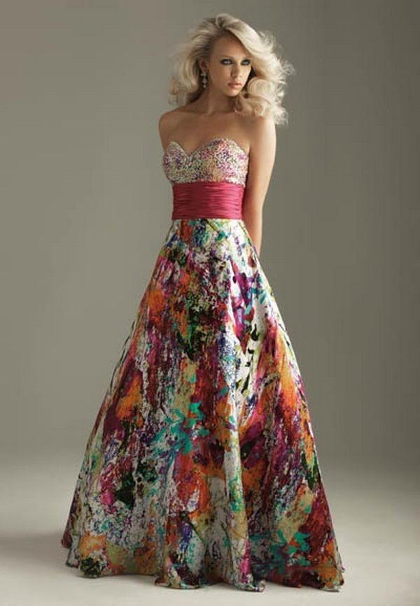 16 rainbow colored dress designs - 30 Gorgeous Rainbow Colored Dress Designs