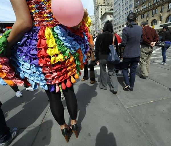 9 rainbow colored dress designs - 30 Gorgeous Rainbow Colored Dress Designs