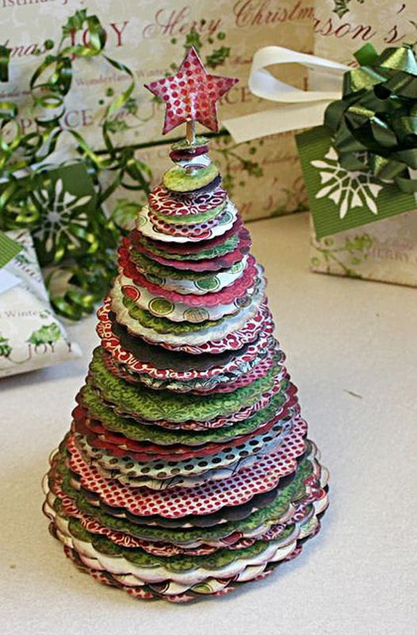 10 christmas tree decorating ideas - 30 Creative Christmas Tree Decorating Ideas