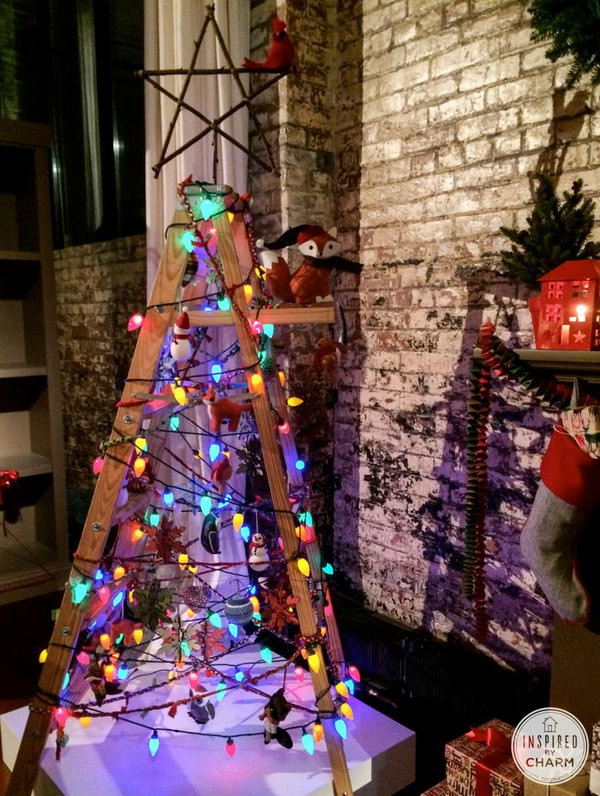 13 christmas tree decorating ideas - 30 Creative Christmas Tree Decorating Ideas