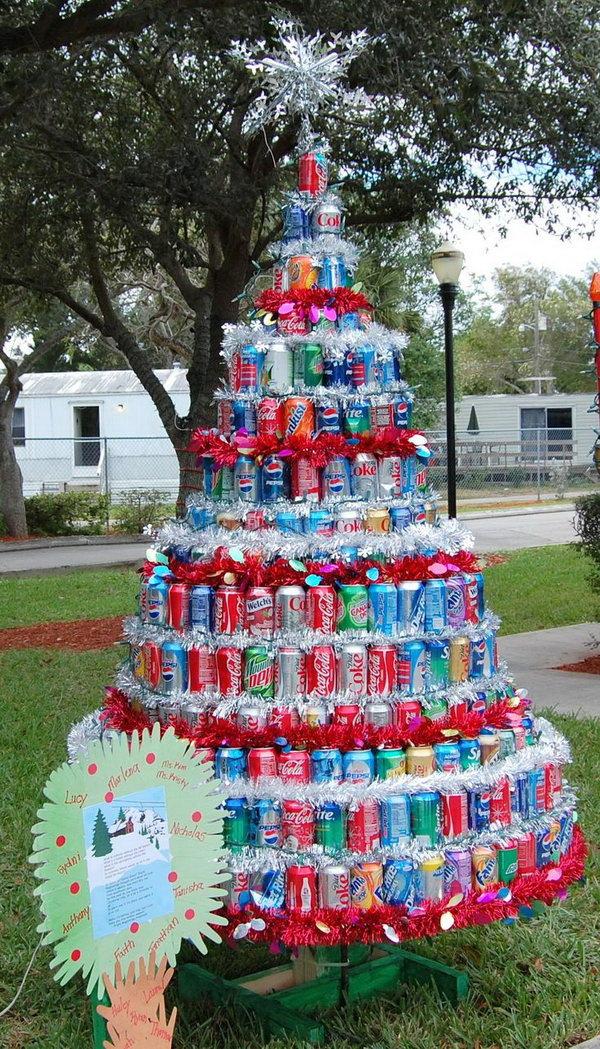 Alternative Christmas Trees Cardboard