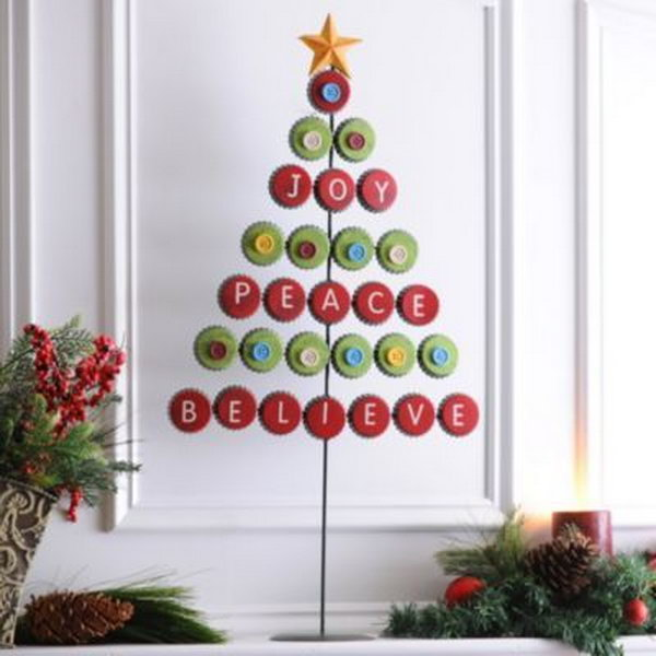 9 christmas tree decorating ideas - 30 Creative Christmas Tree Decorating Ideas
