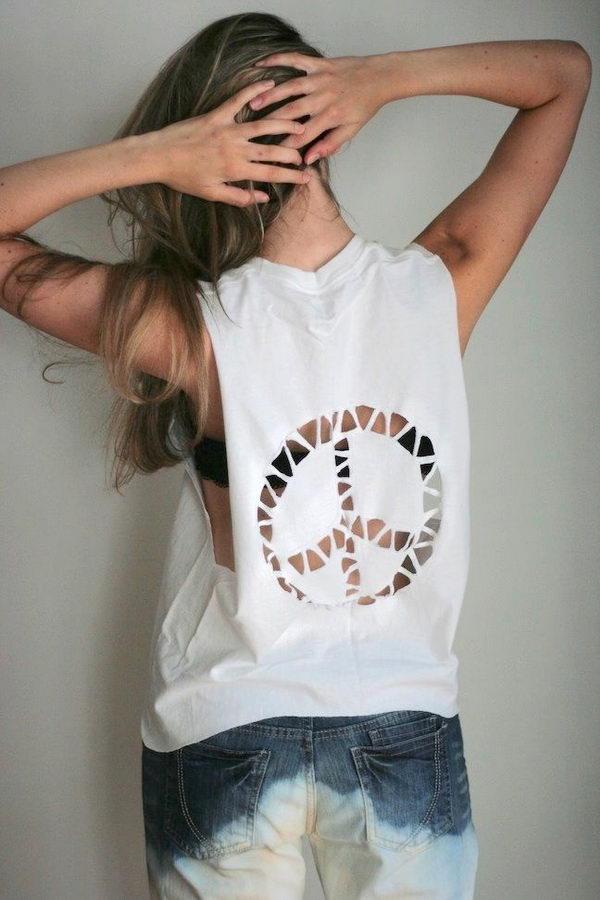 Cool Ways Cut T Shirt Girls