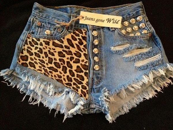13 wild shorts idea - 20 Cool DIY Shorts Ideas for Girls