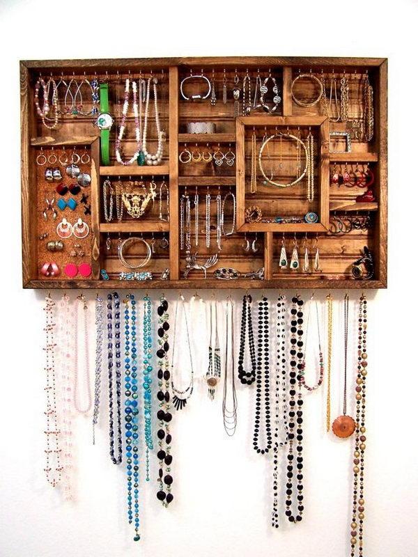 30 Creative Jewelry Storage Amp Display Ideas