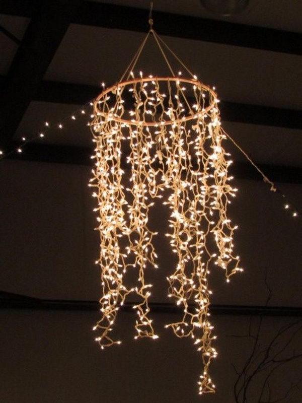 30 Cool String Lights DIY Ideas