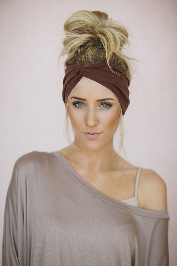 13 cool hairstyles with headbands for girls - 25 Cool Hairstyles with Headbands for Girls