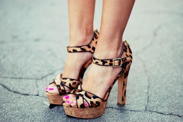 7 leopard print sandal - 10 Creative Leopard Print Shoes Ideas