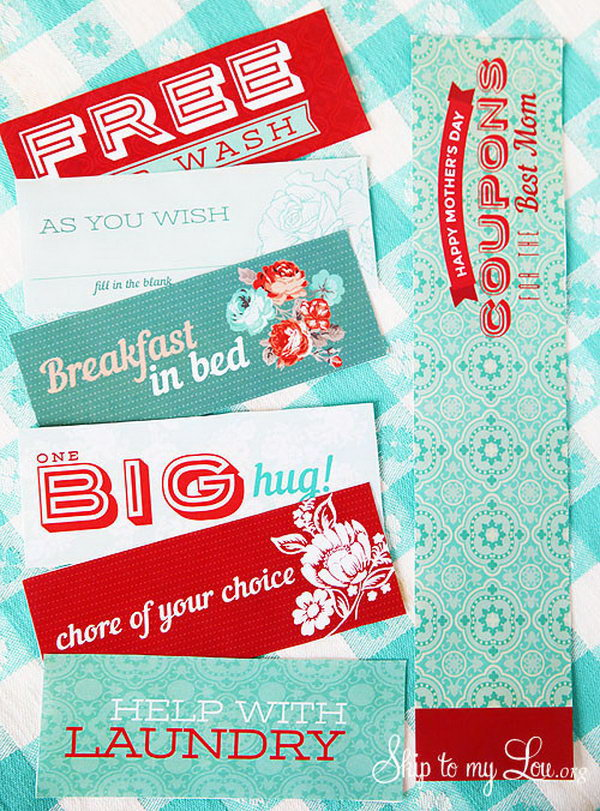 4 diy gifts for mom - Creative DIY Gifts for Mom
